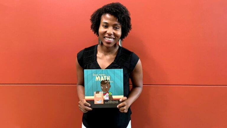 Best Buy employee publishes children's book on math, manners