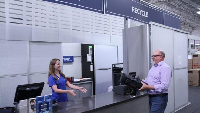 'Closed-Loop' Recycled Printer Now Available at Best Buy