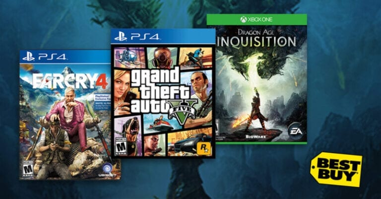 Get Your Hands on 4 Gaming Titles at Best Buy on Tuesday