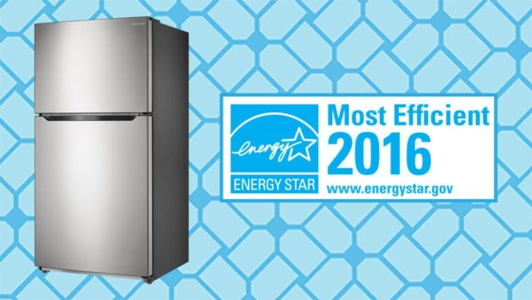 Insignia Fridge Named ENERGY STAR® Most Efficient