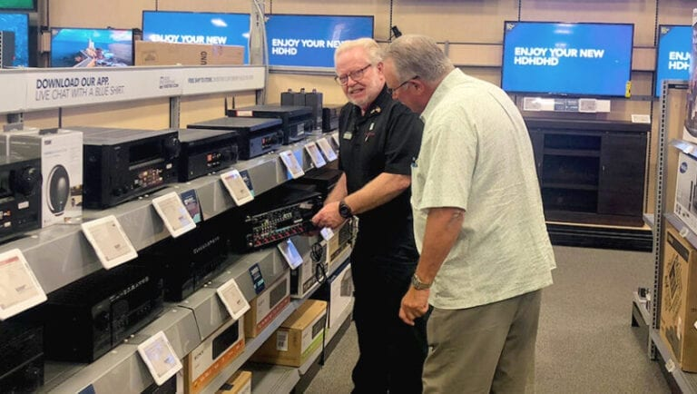 At 76, Best Buy Associate Loves Spinning Stories and Delighting Customers