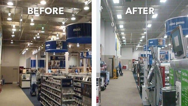 Brighter, Better And Energy Efficient: New Lights At 800 Best Buy Stores