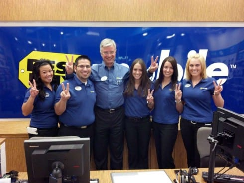 Best Buy CEO Hubert Joly at the Eden Prairie BBY
