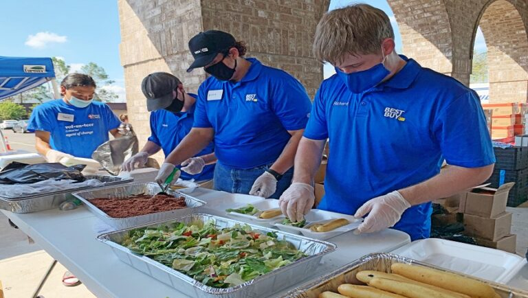 Best Buy, community came together during record-breaking disaster season