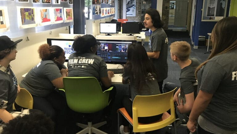 Chicago Teen Tech Center Students Become Hollywood Filmmakers