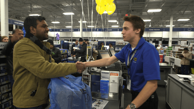Best Buy Doorbuster Deals Start At 5 P.M. On Thanksgiving And At 8 A.M. On Black Friday