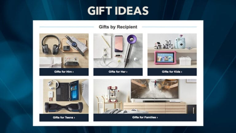 Find Holiday Shopping Ideas at Best Buy's Gift Center