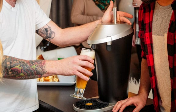 Fizzics Seizes 'Beer Renaissance' with Draft-Quality Beer Dispenser