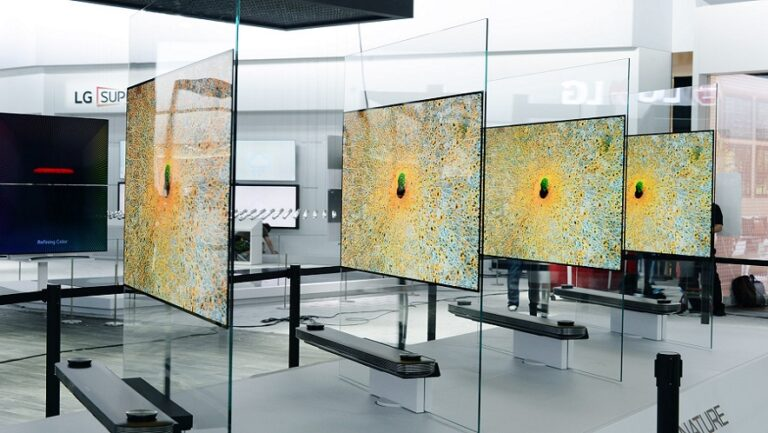 See The Wallpaper-Thin LG OLED TV At Select Best Buy Stores