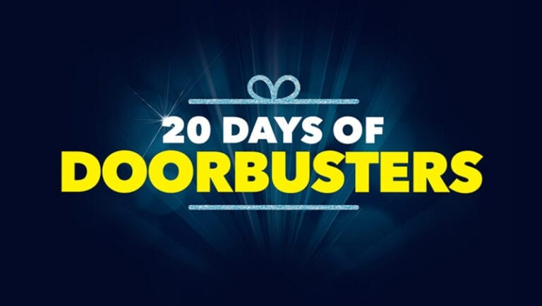 Lowest Prices of Season During 20 Days of Doorbusters at Best Buy