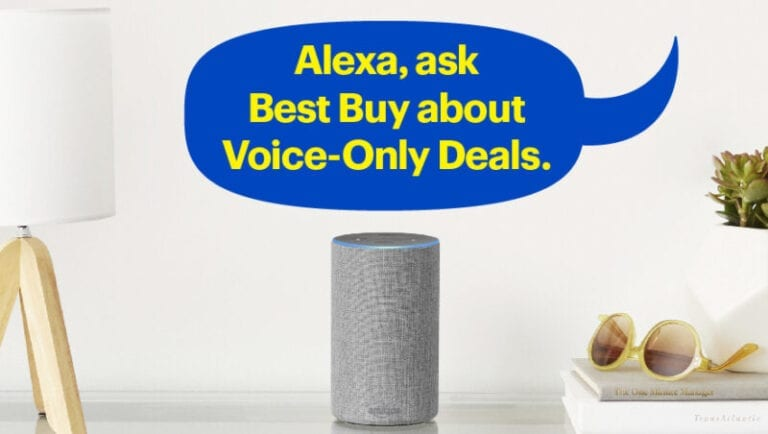 Best Buy Voice-Only Deals now available on Alexa