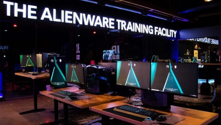 Go Behind the Scenes at the New Alienware Esports Training Facility