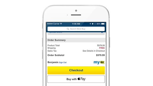 Apple Pay Now Accepted in Best Buy App, Coming to Stores Later This Year