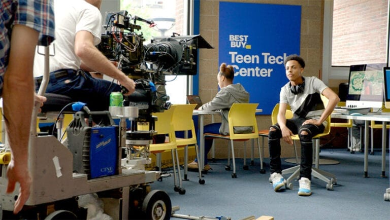Teens get a voice in new Best Buy awareness campaign