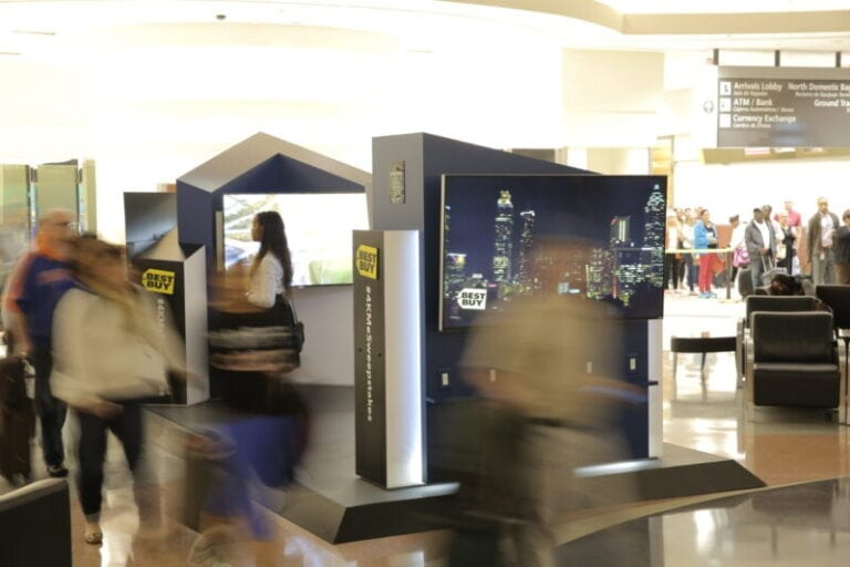 Help Time Fly by with 4K UHD TV Gallery at Atlanta Airport