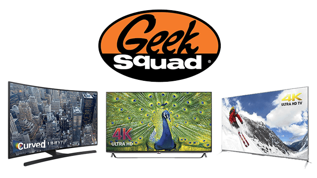 Buy an Ultra HD TV and Wall Mount and Geek Squad Will Install and Mount the TV For Free