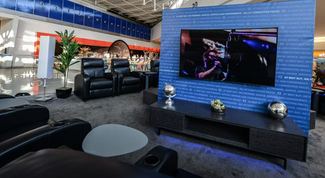 Relax at JFK Airport in Best Buy's New Ultra HD Lounge