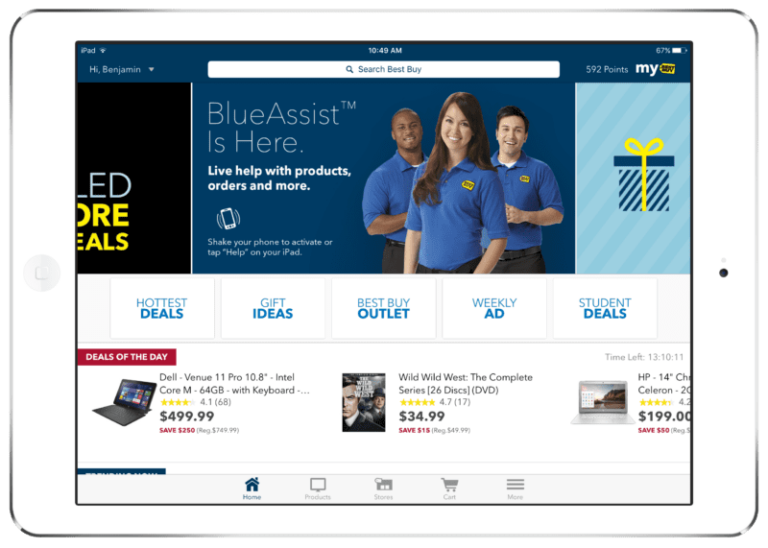 Best Buy App Now Bigger (and Better) on the iPad