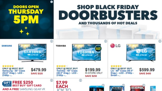 Going Behind the Scenes of Best Buy's Black Friday Ad