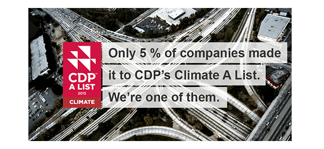 Best Buy Achieves Coveted CDP Climate Change A List