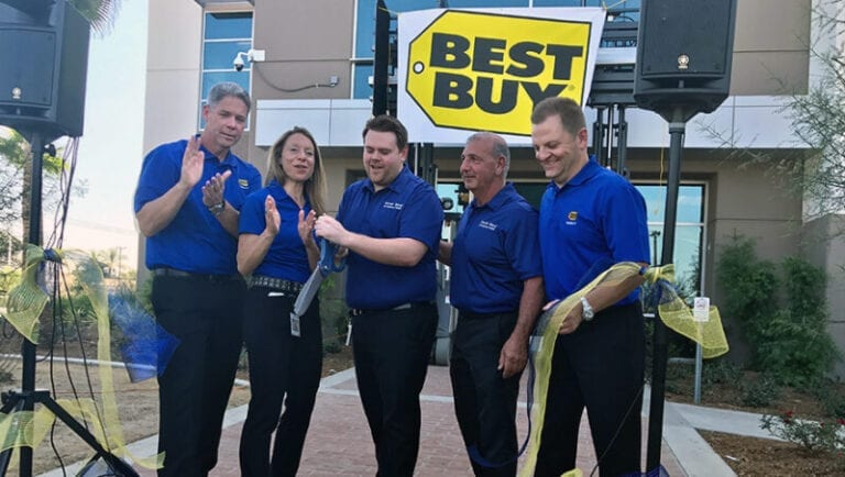 Best Buy Opens New Distribution Center in Compton, California