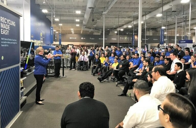 Best Buy stores practice for Thanksgiving, Black Friday crowds