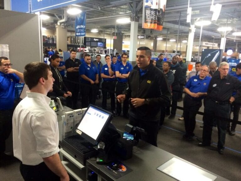 How Best Buy Stores Rehearse for Thanksgiving, Black Friday