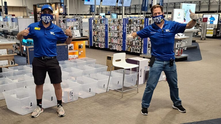 Sew Good: Best Buy Employees Make Face Coverings