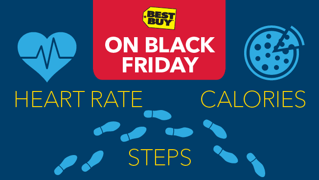 How Much Physical Activity Goes Into Running a Best Buy Store on Black Friday?