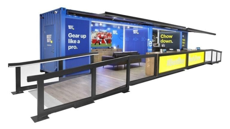 Huddle up, Best Buy's Tech Zone is on the road