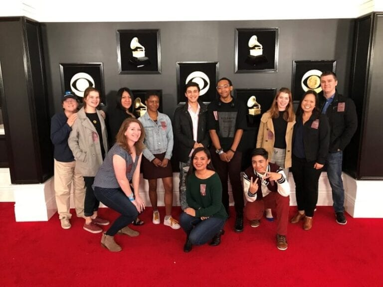 Students get career inspiration from Grammy tour