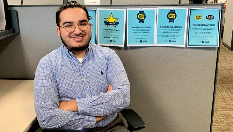 Student in Georgia finds more than a job at Best Buy