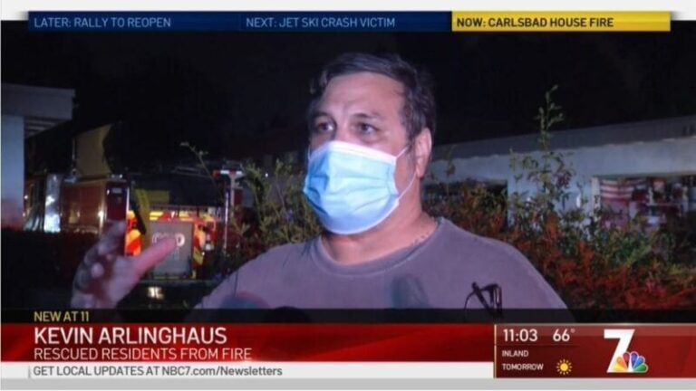 GreatCall Employee Hailed As Hero After Saving Neighbors From Fire