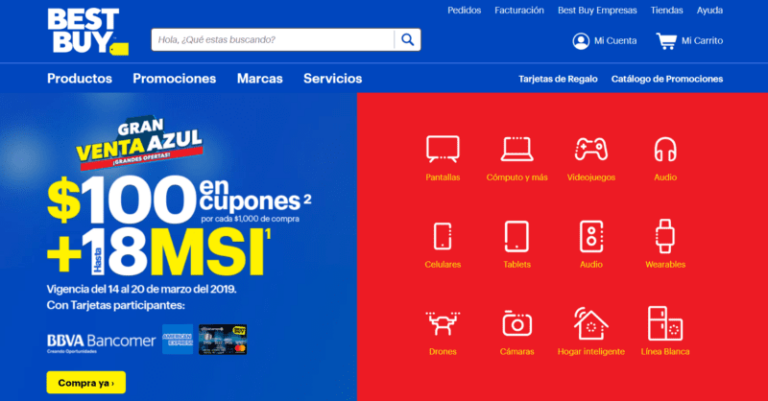 Best Buy named top retail website in Mexico