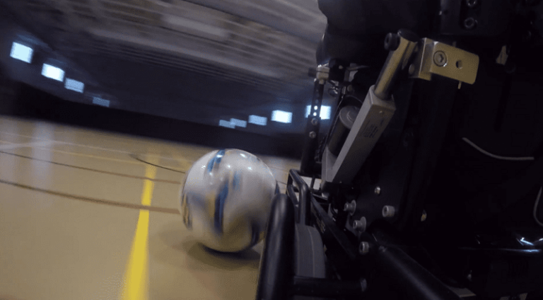 Goal-oriented: Best Buy intern excels in power soccer [Video]