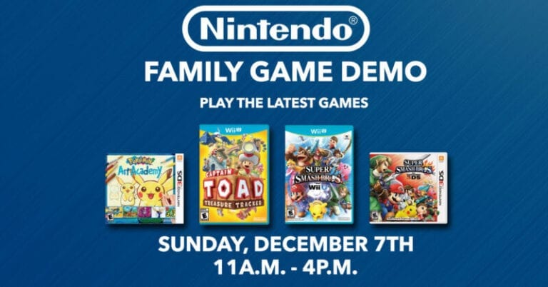 Sunday is Family Fun Game Day at Best Buy, Thanks to Nintendo