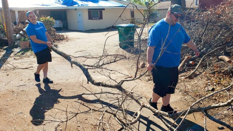 After hurricane, Panama City employees rally to help others