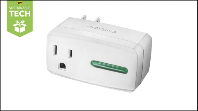 Sustainable Tech: Save Energy With Insignia's Smart Plug