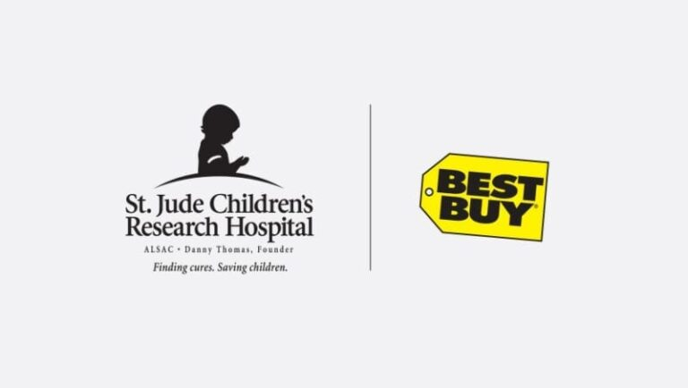 Best Buy Finishes as Top Fundraising Partner for St. Jude Children's Research Hospital® Thanks and Giving® Campaign
