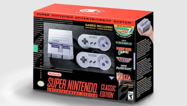 Super NES Classic Edition Arrives at Best Buy Friday