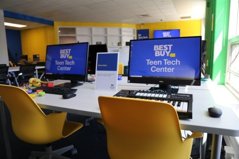 Best Buy Picks Sites for Next 5 Teen Tech Centers