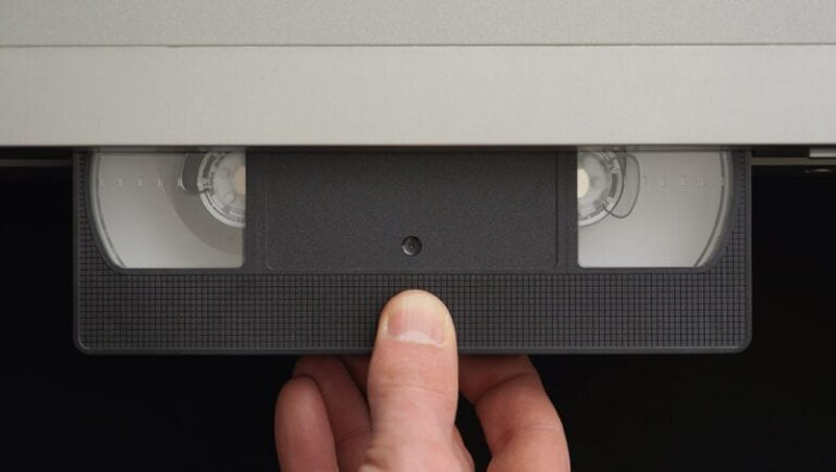 Take a Moment to Rewind on National VCR Day