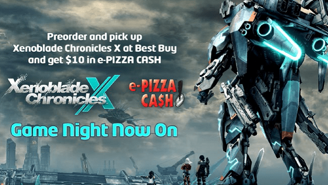 Get 'Xenoblade Chronicles X' at Best Buy, Score $10 in e-Pizza Cash