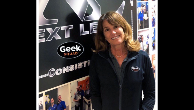 Over 25 years, Best Buy career has provided her more than a paycheck