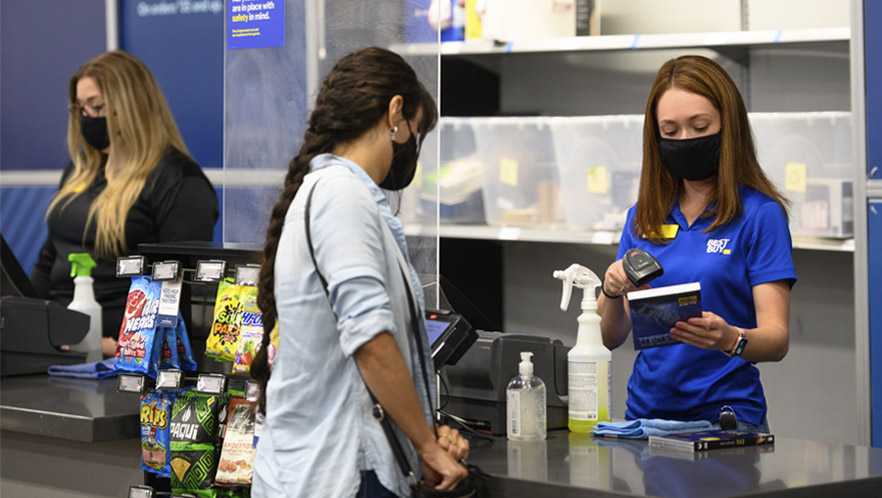 Best Buy ranked No. 1 big-box retailer for COVID-19 safety