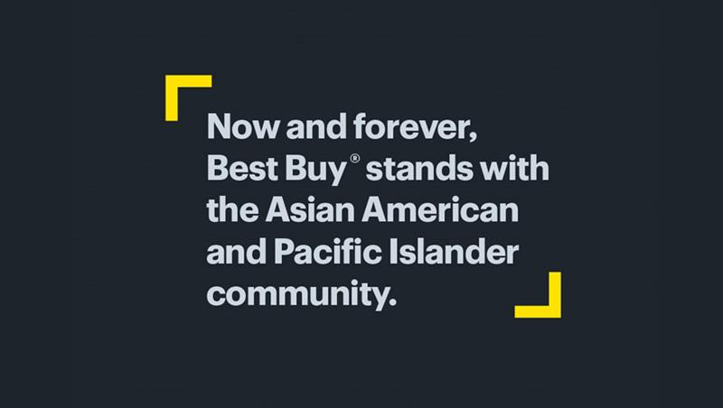 Best Buy stands with AAPI employees, communities